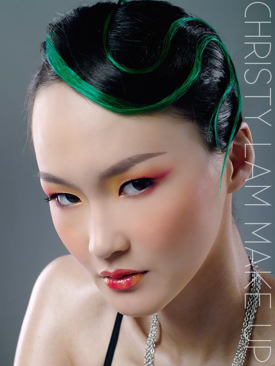 Hong Kong Jun 14, 2008 Christy Lams make up