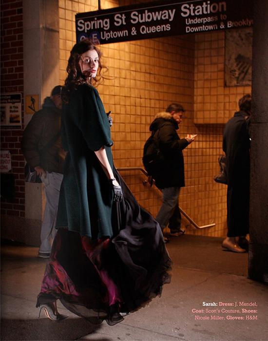 Female model photo shoot of Adora Tokyo in SOHO,NYC