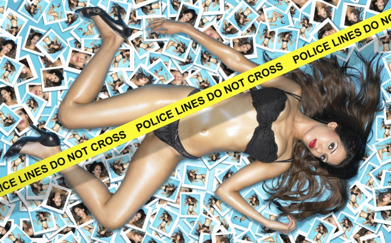 London Studio Jun 16, 2008 Mel Bagshaw police lines