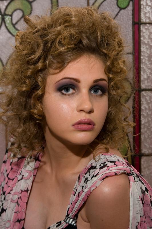 Female model photo shoot of Queen the Makeup Artist and Vandenbudenmayer