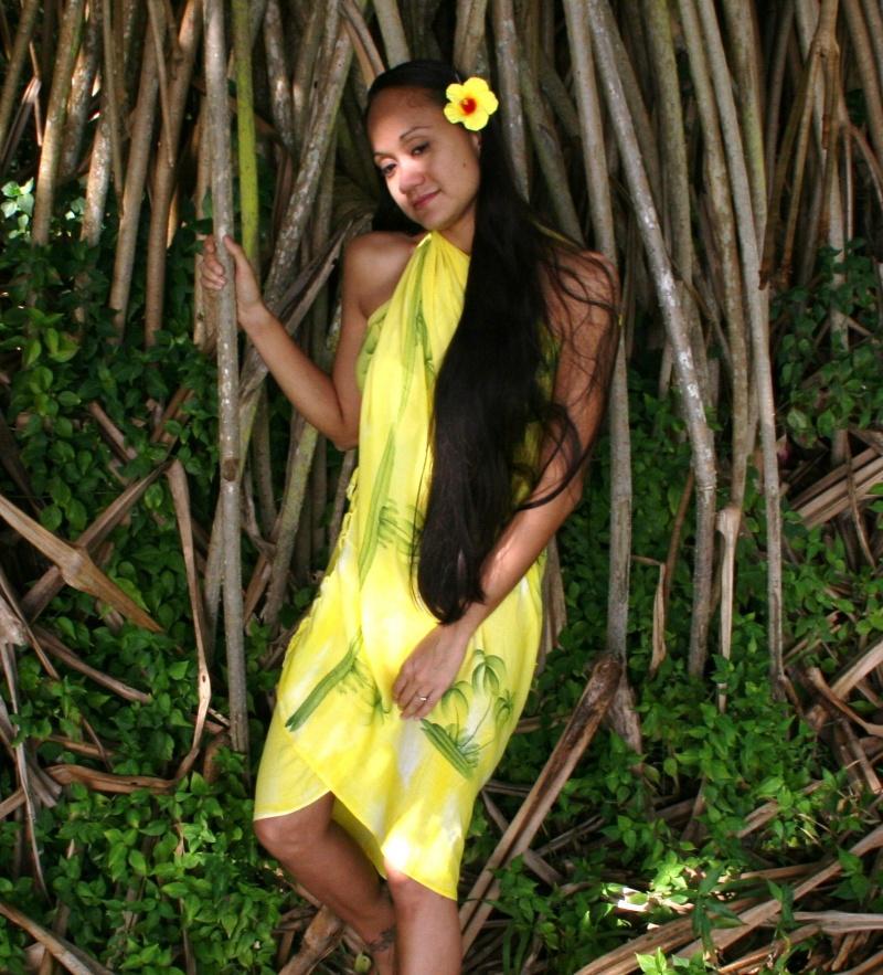 Waikiki, Hawaii Jun 18, 2008 Yellow Paradise