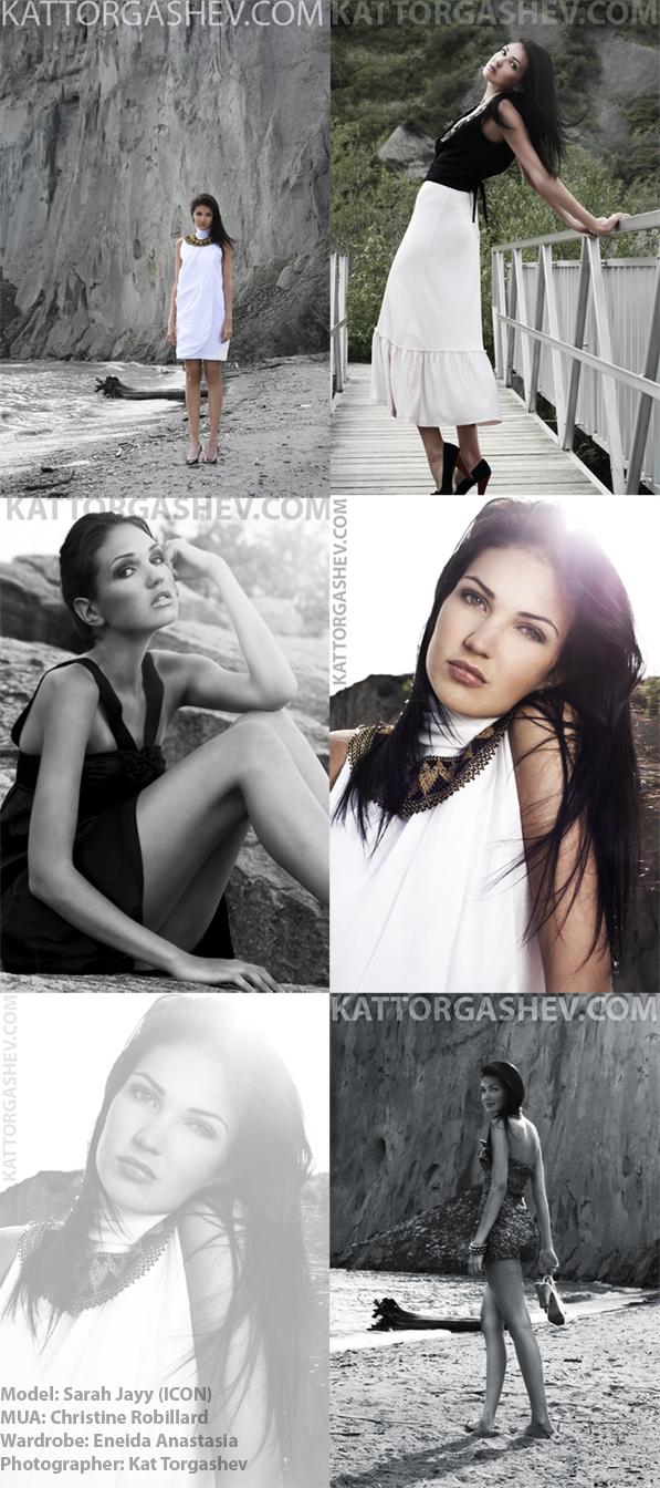 Female model photo shoot of eneida anastasia and Sara Jayy by Kat Torgashev