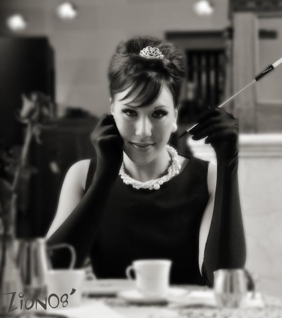 ~OZ!~ my studio in Waupun Jun 20, 2008 ©Zion Imaging 2008 ~Lindsey in a tribute to Audrey Hepburn!~