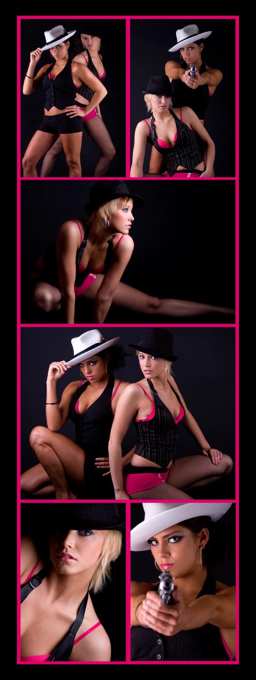 Female model photo shoot of J Boettner Studios, Angela Lowe and Leah Danielle
