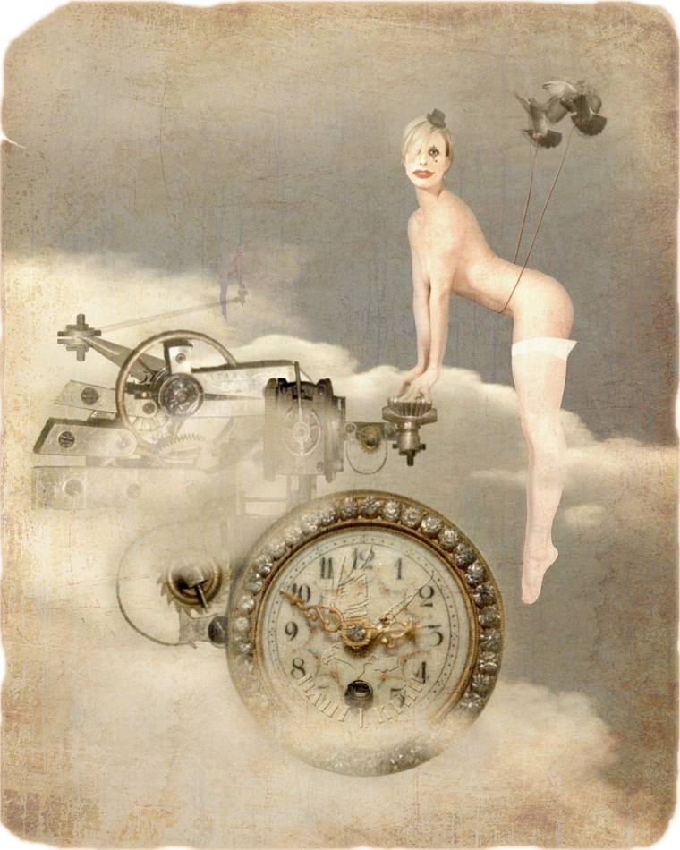 From the A Fanciful Influence series Jun 21, 2008 pjb archives The Timekeepers  (Model: Ali) / MM Pic of the Day