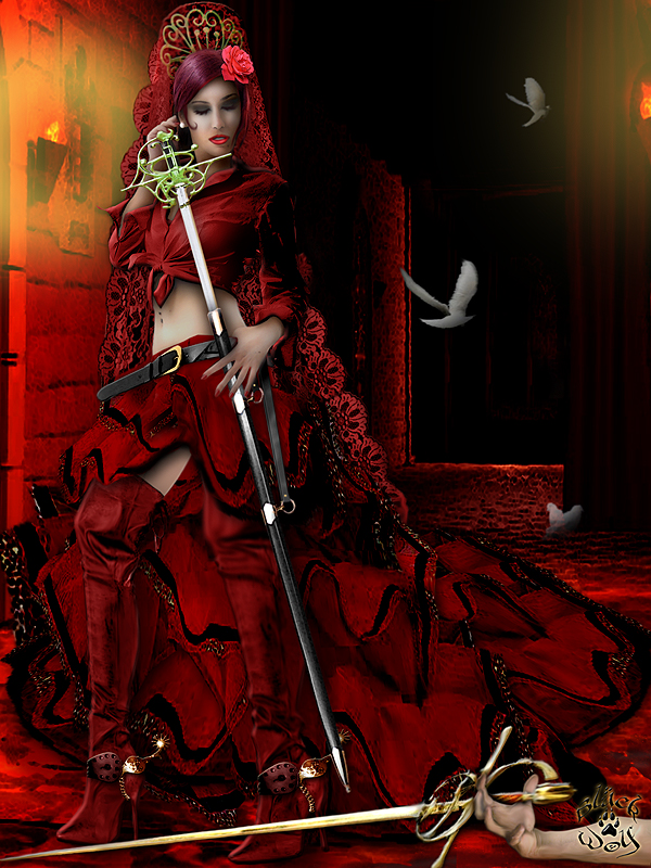 Jun 21, 2008 Artist: Black Wolf / Model: Bea Martínez Killer Fandango