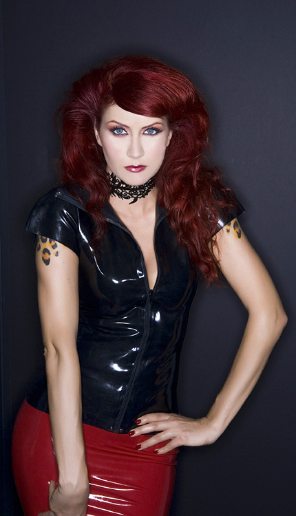 Red Bank , NJ Jun 21, 2008 Red Sky Photography Latex Love, Necklace by ArtwithDesigns