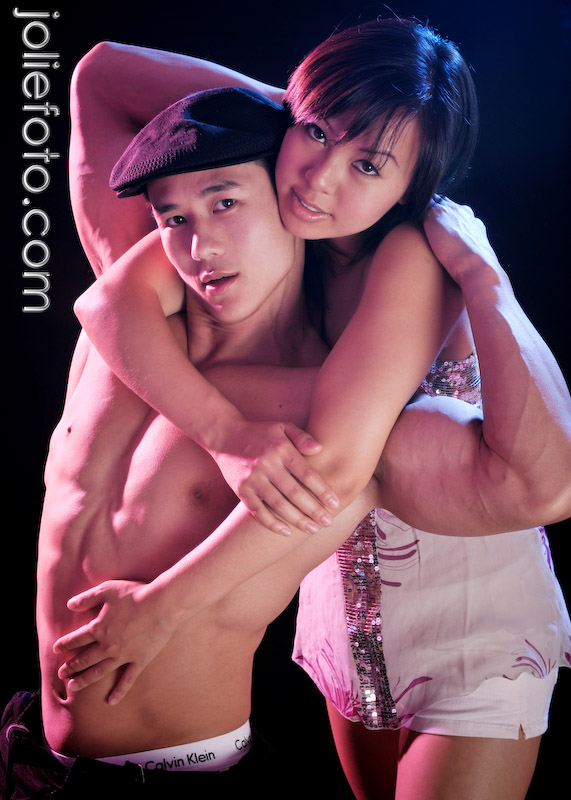 Male model photo shoot of Jolie Foto Studio and Peter Le