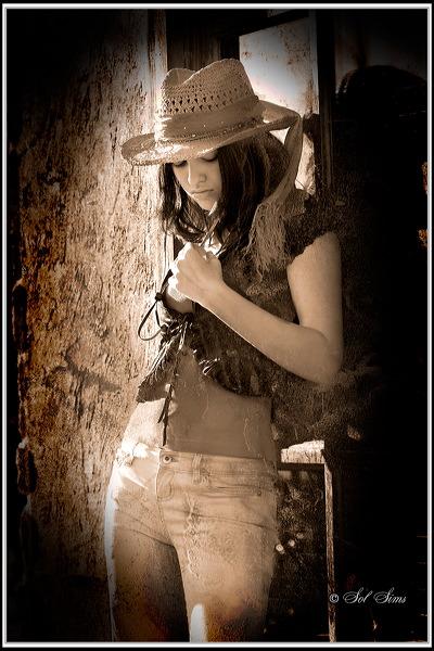 GA Jun 21, 2008 Sol SIms Cowgirl