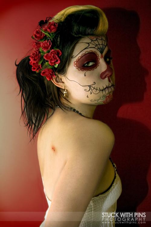 Jun 22, 2008 Stuck with Pins Til Death - Sylvia Ji tribute (self-portrait)
