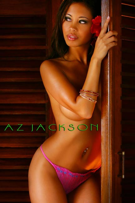 Puerto Vallarta Jun 23, 2008 Az Jackson Exotic Beauty - Full-length image