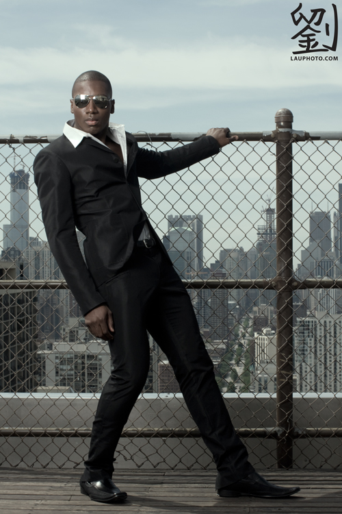 Male model photo shoot of Lawrence Lau and Dimitrius C in Chicago, IL, wardrobe styled by Mashallah