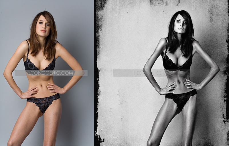 Jun 24, 2008 (c) 2008 Iconogenic.com Anorexia retouching