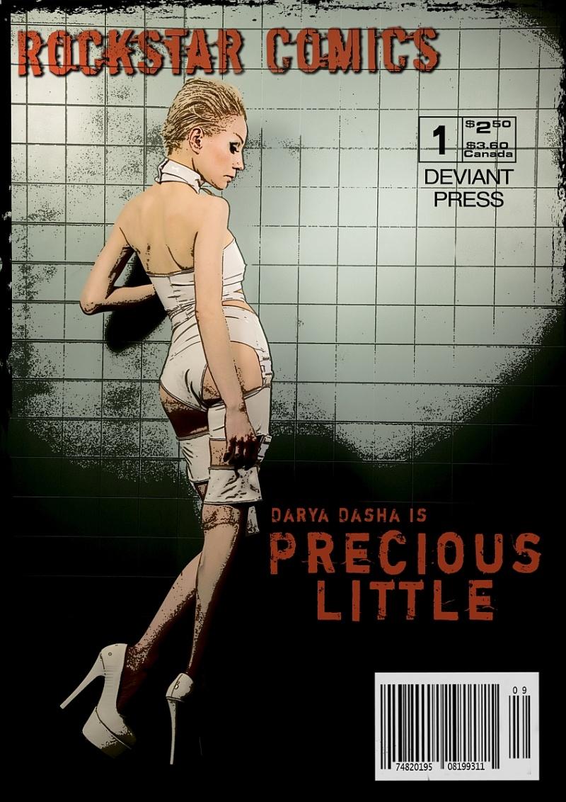 Jun 25, 2008 John Gatta & Precious Little I as comic character..