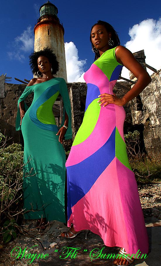 Barbados W.I. Jun 25, 2008 Wayne FLI Summerlin06 Vangeleta & Kisha Calendar
