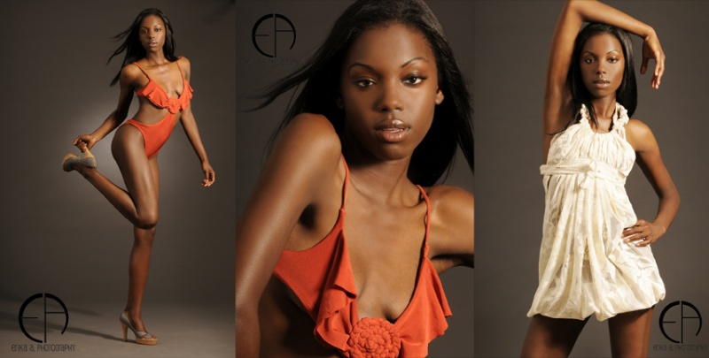 Female model photo shoot of Erika Seress  and ALiCiA JaNaE, wardrobe styled by Ximena Valero