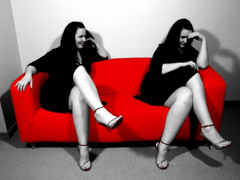 Male and Female model photo shoot of DBK Photo and Gloria Gene in Portland, OR