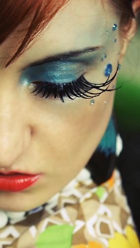 Female model photo shoot of Media Make-up and Kareena by Heather Louise