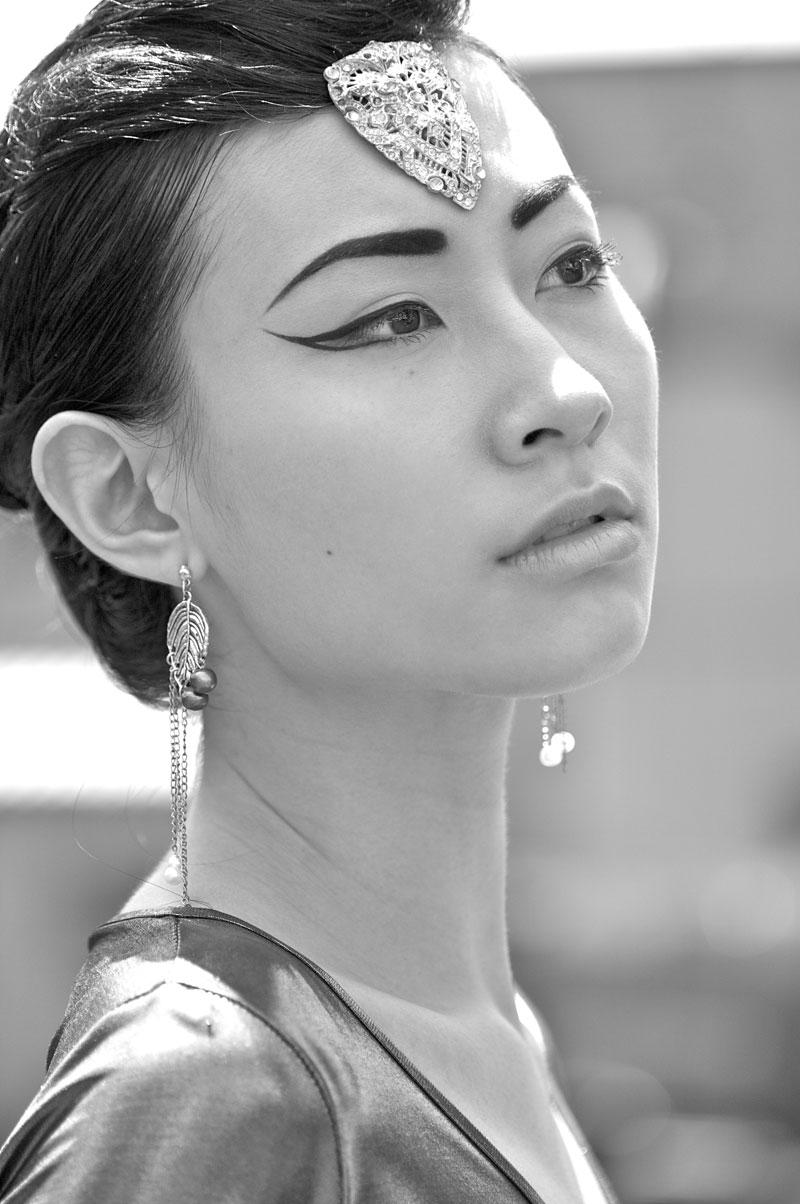 Female model photo shoot of Selena Riseborough by RitzMarie