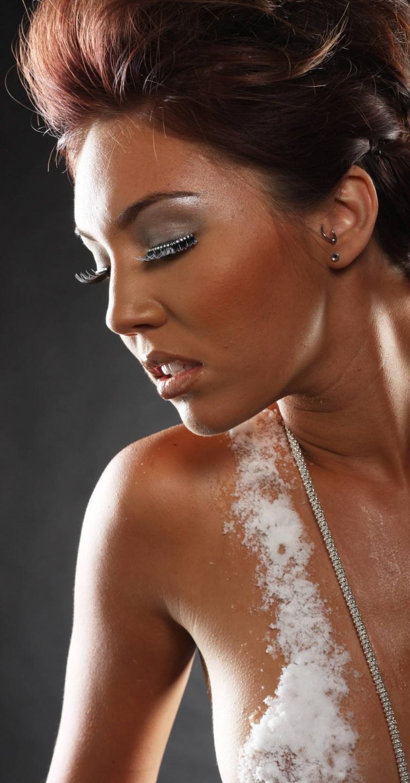 Studio Jun 26, 2008 Samantha Henrikson Jewelry Ad/ Makeup done by me