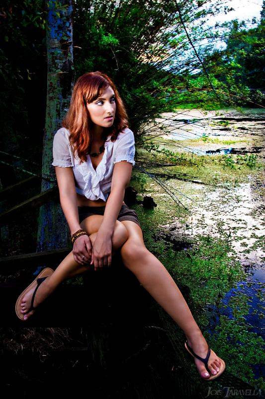 Female model photo shoot of Keira Dazi by JoeZeppi in South East Louisiana