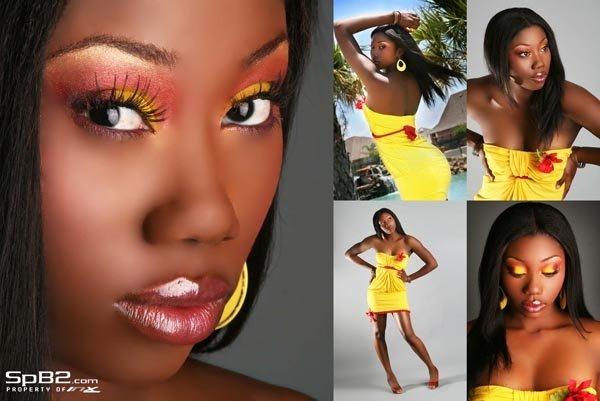 Female model photo shoot of Chyna N by SpB2 in Houston, TX, makeup by TashaRenee