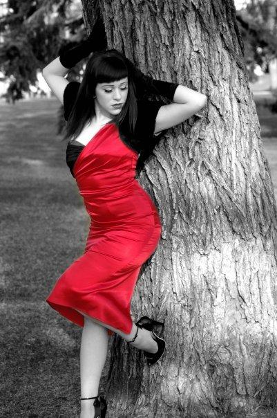 Female model photo shoot of Holly Von Sinn in Edmonton