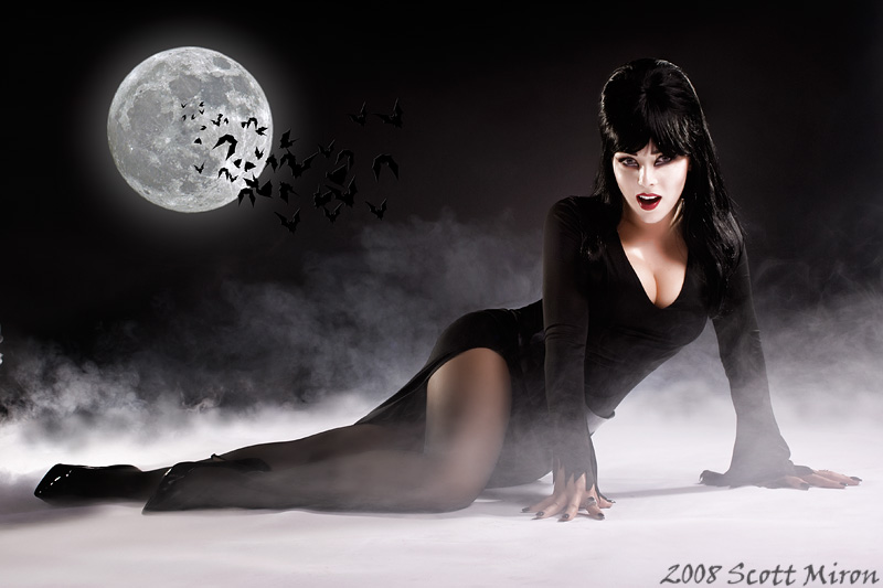 The Graveyard Jun 27, 2008 2008 Scott Miron Elvira - Mistress of the Dark