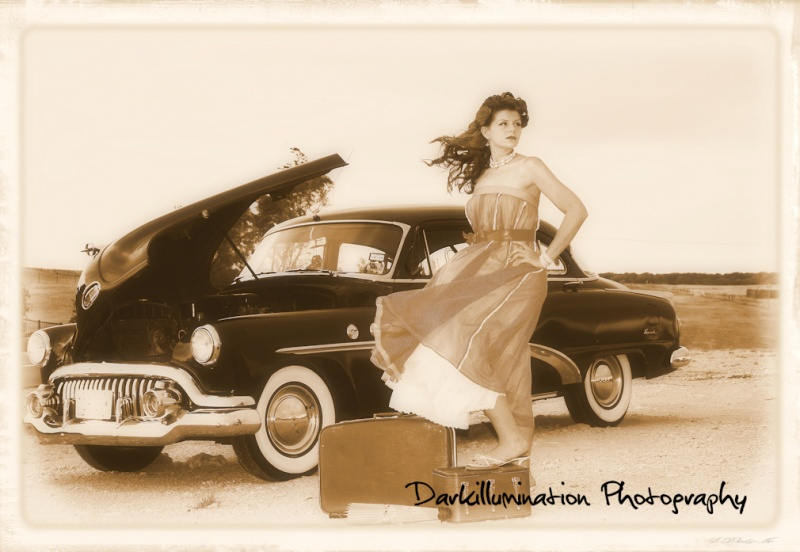 Fort worth Jun 28, 2008 Darkillumination Photography 50s Pin-up Stranded