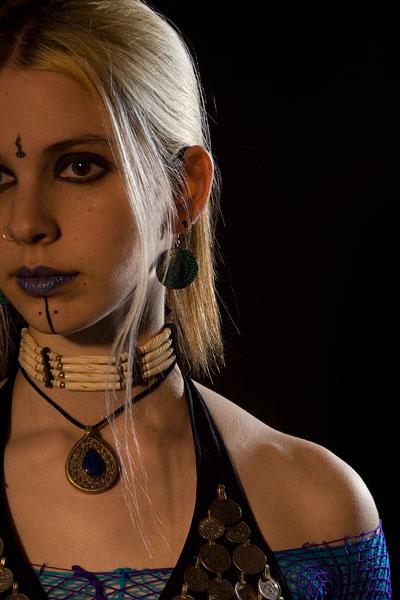 Female model photo shoot of Samara G by Raj Jain