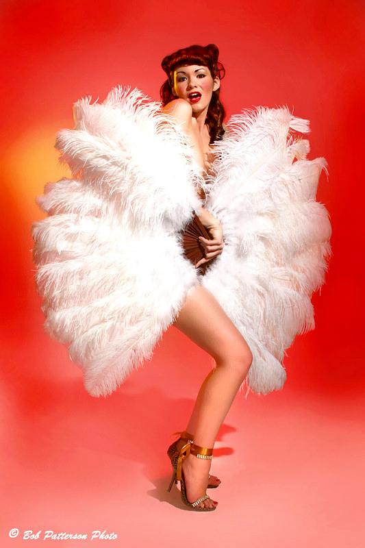 Cover Shot Photography Studios Jun 30, 2008 Bob Patterson Mandy Pauline - Fan Dancer Extraordinaire
