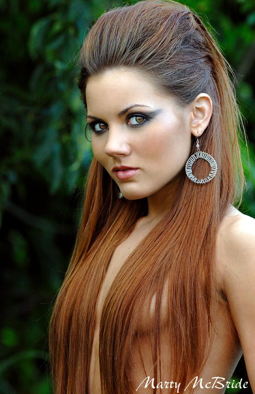 Female model photo shoot of Kayla Long, makeup by Glamour Art