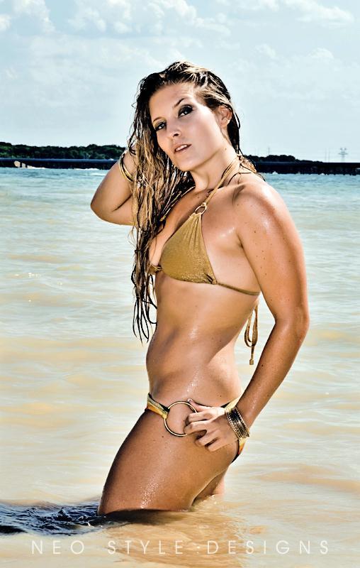 Female model photo shoot of Candra Bradley by Neo Style Designs in Joe Pool Lake