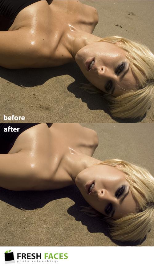 Female model photo shoot of Fresh Faces Retouch