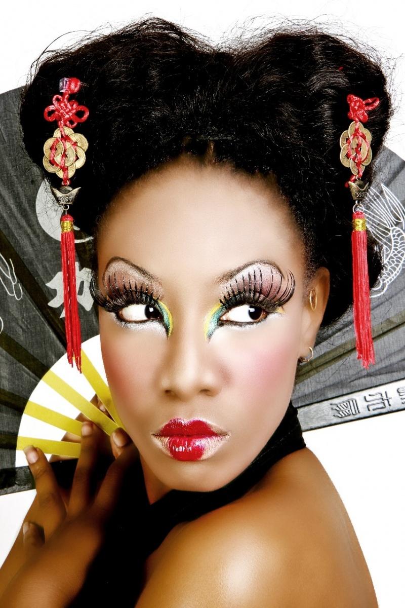 BKLYN, NY Jul 03, 2008 el cubano GeiSHA~ Carmel...make up by me..retouched by CAT_6