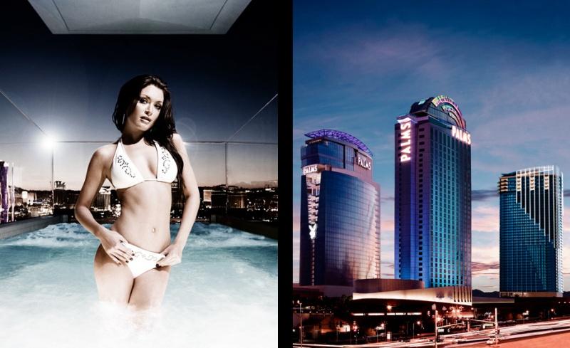 Las Vegas Jul 03, 2008 ©2008 Clayton James Photography Palms Hotel & Casino ad