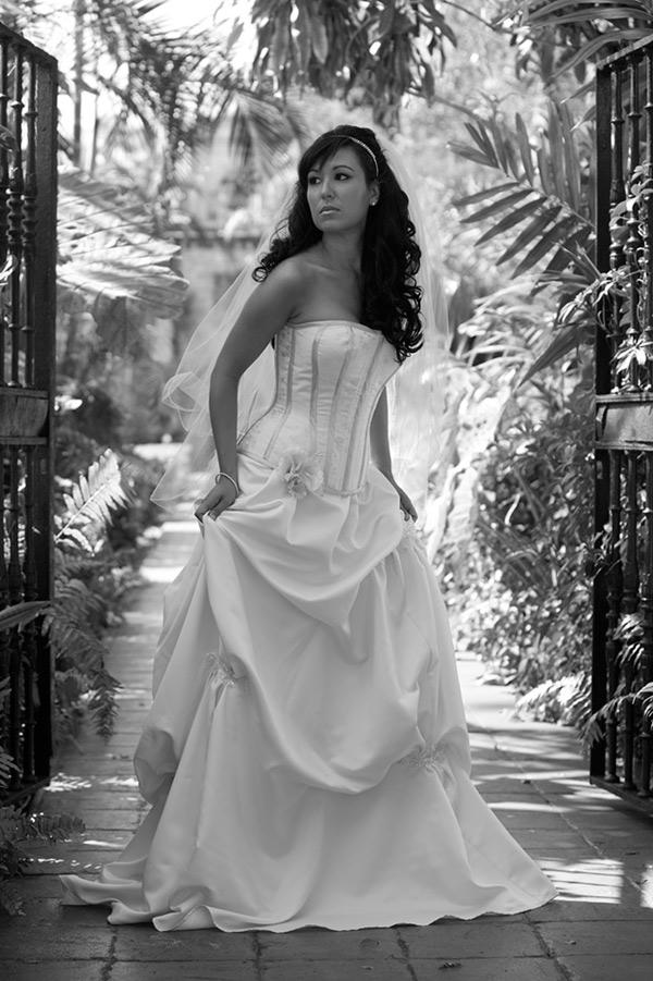 South Florida Jul 03, 2008 Bryan Benoit Model: Giselle Elena - Designer: Meschantes Couture