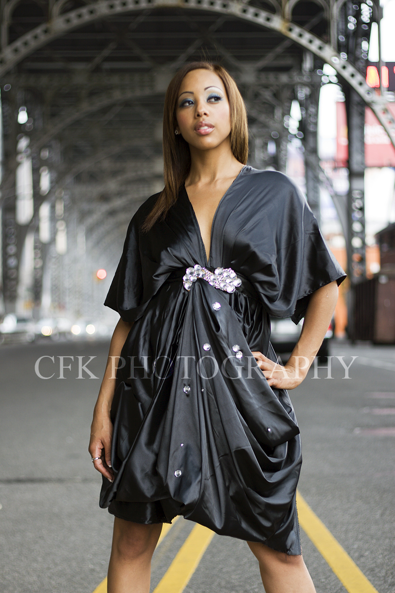 Female model photo shoot of XxTiaraxX by CFK Photography, makeup by Tanisha-Faye, clothing designed by Ying Edge Clothing