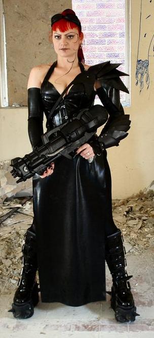 Kent Jul 06, 2008 Apocaliptic Cyber Warrior MUA Sara Austin