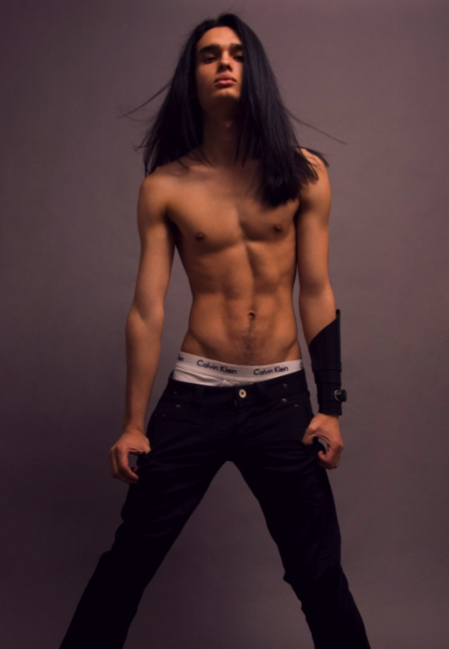 Male Models With Long Black Hair Image Search Results To Download Male ...