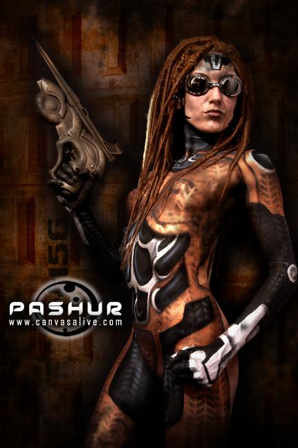 Jul 10, 2008 2008 - Neal Rue/Pashur Body Paint by Pashur