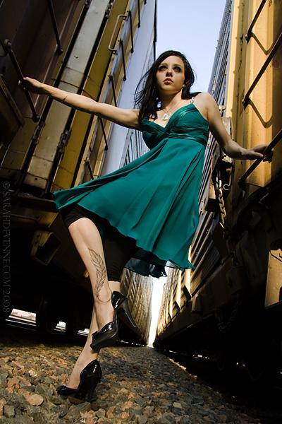 Dartmouth, Nova Scotia Jul 11, 2008 Sarah DeVenne Dress available at Début Fashions. Model: Kelly Martell