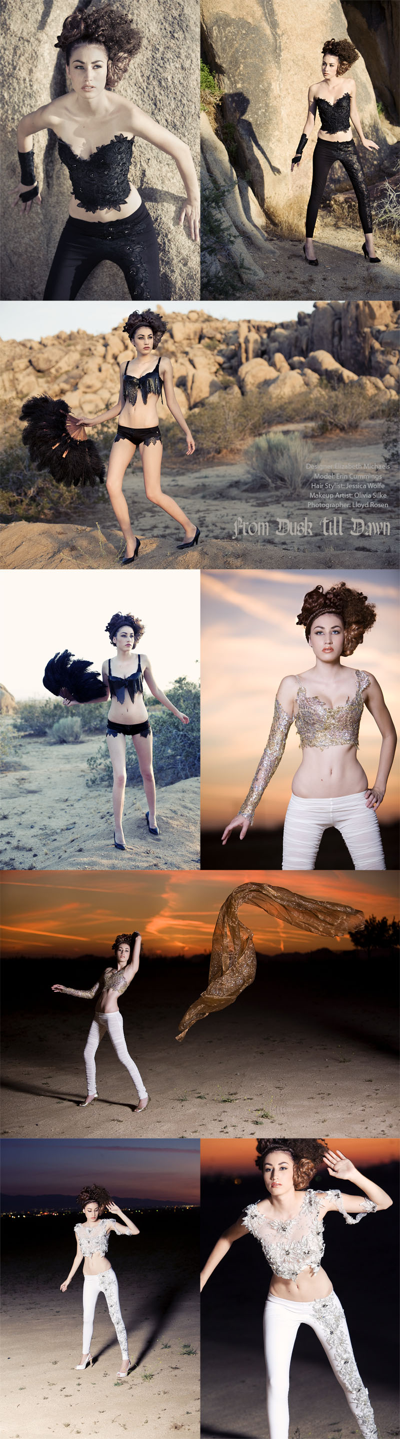 the desert Jul 12, 2008 Lloyd Rosen Photography From Dusk till Dawn..............Haute Couture spec