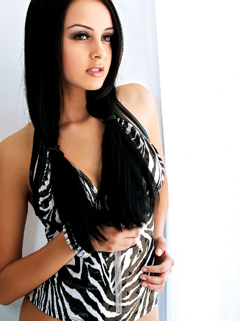 Jul 13, 2008 Nha Chim, Make up by Claudia Rocio Girls of Lowrider-June 08 Issue