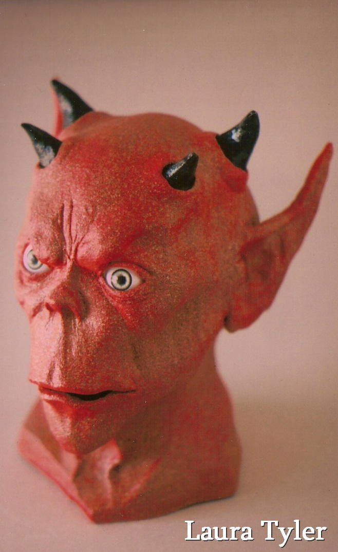 Jul 13, 2008 Red ceramic demon. Done in my highschool years.