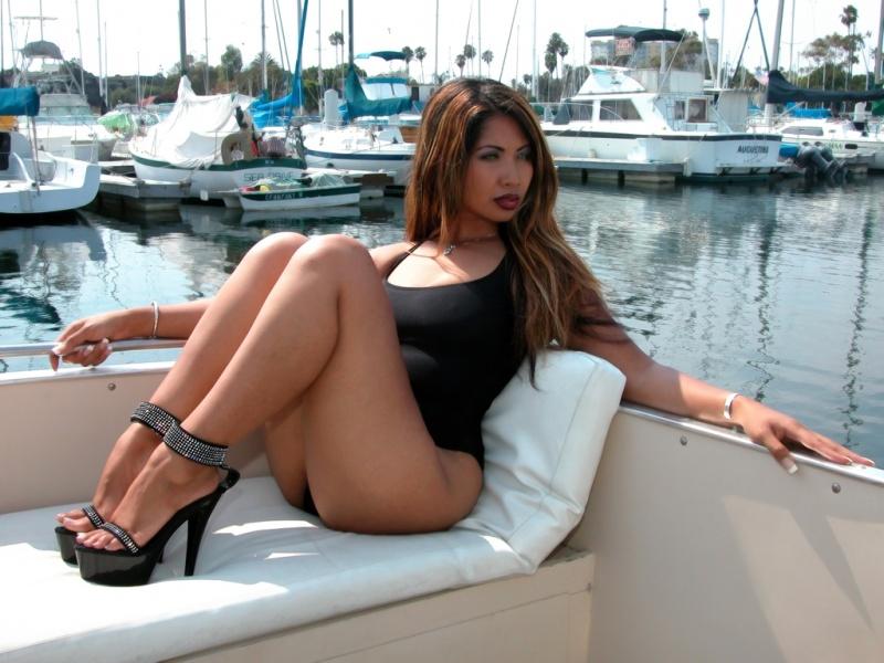 Marina Del Ray Jul 15, 2008 Harmony Seng & Stillmotion Photography Harmony on Boat