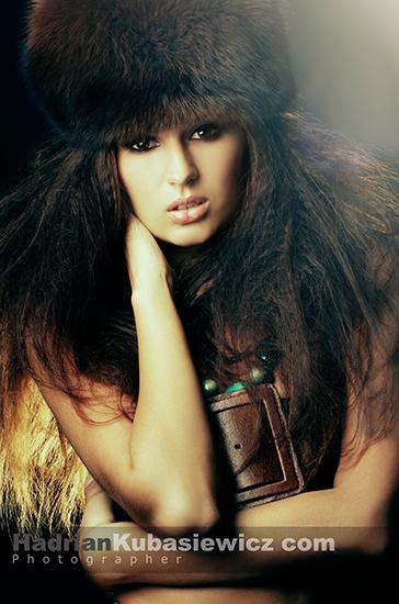 Female model photo shoot of OlaDomagala in -