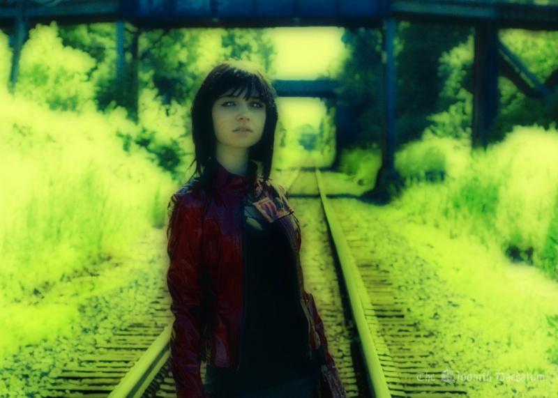 oshawa, ON Jul 16, 2008 Derek Cutting Provia film cross-processed, yellow filter, Pentax 6x7 camera.