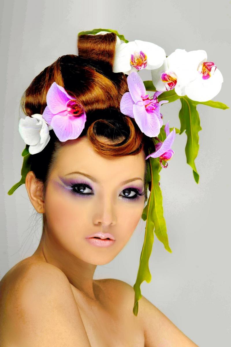 Female model photo shoot of mystiquelady by David Nguyen Studio, makeup by Jacky Tai Nguyen