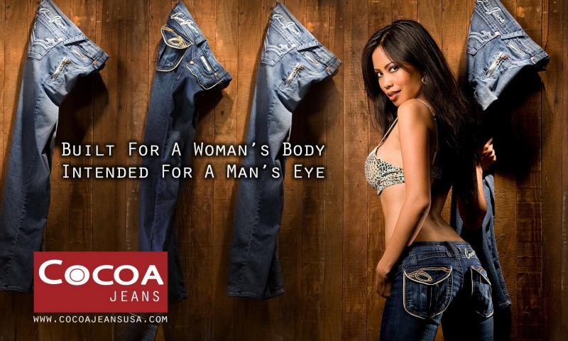 San Francisco, Ca. Jul 18, 2008 Gatta Photography 2008 Cocoa Jeans Tear Sheet - Summer Alexis